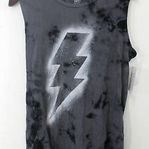 New Urban Outfitters Hometown Heroes Sprayed Lightning Bolt Tie Dye Tee Large Photo