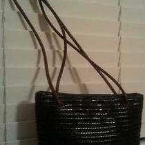 New Valerie Stevens Lined Jewel Stripes Woven Made in Italy Purse Bag Free Shpg Photo