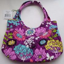 New Vera Bradley Girls Mini Tote Flutterby Shoulder Bag Nwt Butterflies E1 Photo