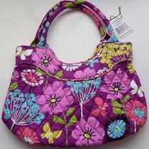 New Vera Bradley Girls Mini Tote Flutterby Shoulder Bag Nwt Butterflies C6 Photo