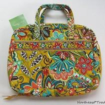 New Vera Bradley Good Book Cover Hardcover Bible Tote Provencal Quilted Fabric  Photo