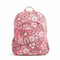New Vera Bradley Large Campus Backpack in Blush Pink Photo