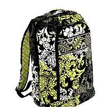 New Vera Bradley Large Laptop Backpack Baroque Photo