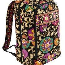 New Vera Bradley Large Laptop Backpack Suzani Photo
