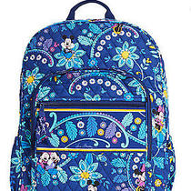 New Vera Bradley Mickey and Minnie Mouse Disney Dreaming Campus Backpack Photo