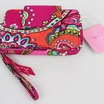 New Vera Bradley Smartphone Iphone Wristlet Wallet Pink Swirls Photo