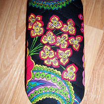 New Vera Bradley Symphony in Hue Hard Eyeglass Eye / Sunglass Case Nwot Photo