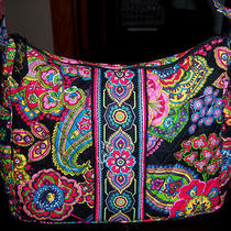 New Vera Bradley Symphony in Hue on the Go Purse Nwot Photo