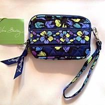 New Vera Bradley Tech Case - Indigo Pop Photo