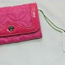New Vera Bradley Wallet - Small Clutch Type - Vivid Hot Pink  Plaza Card & Key Photo