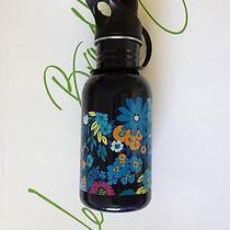 New Vera Bradley Water Bottle in Midnight Blue Photo