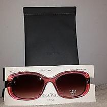 New Vera Wang Luxe Sunglasses Penumbra Rose 54-18-133  Photo