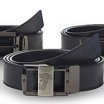 New Versace Collection Men's Leather Belt (V910037) Photo