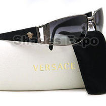 New Versace Sunglasses 2021 Black 1001/11 Photo