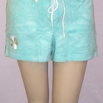 New Victoria's Secret Embroidered Terry Board Short Small Photo