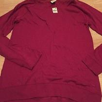New Victoria's Secret Pink Berry Pink Pullover Shirt Tee Top Sz Small Comfy Soft Photo