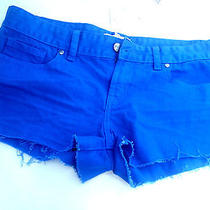 New Victoria's Secret Pink/ Bright Blue Shorts Size 6 Photo