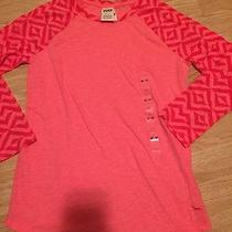 New Victoria's Secret Pink Hot Bright Pink Pullover Shirt Tee Top Sz Xs Xsmall Photo