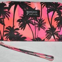 New Victoria's Secret Pink Tropical Palm Tree Tech Wristlet for Iphone 5/5s Photo