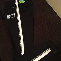 New Victoria Secret Pink Black White Small Ultimate Gym Yoga Pants Limited Gift Photo