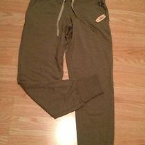 New Victorias Secret Angel Olive Green Skinny Pant Sz Xsmall Xs Gym Hot Deal Photo