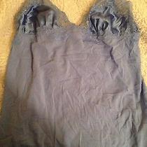 New Victorias Secret Large Slip Nightie Blue Lace L Photo