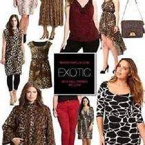 New Vince Camuto Exotic Animal Print Sleeveless Top Msrp 74.00  Photo