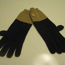 New Vince Camuto  Gloves Brown Beige  One Size Uni Photo