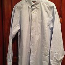 New Vineyard Vines Men's Bengal Stripe Murray Shirt Sz M Classic Fit Blue White Photo