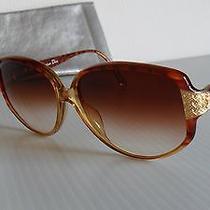 New Vintage 1990's Christian Dior 2801 'Jackie O.' Sunglasses Tortoise & Gold    Photo