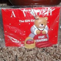 New Vintage Avon Gift Collection Best Grandma Gift Keychain Bear Heart Love Gift Photo