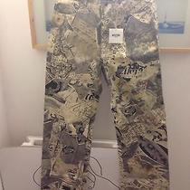 New Vintage Moschino Art History Theme Jeans Size 28