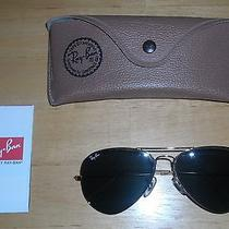 New Vintage Ray Ban Authentic Aviator Sunglasses - Free Shipping Photo
