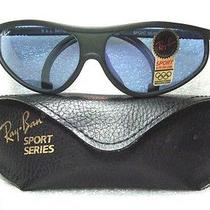New Vintage Ray-Ban b&l Aviator Chromax Purple Sport Series 2nos Sunglasses Photo