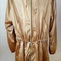 Newvintage Sonia Rykiel Paris Gold Oversized Hooded Coat  Size T44/ Uk 14-16 Photo