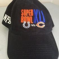 New Vintage Super Bowl Xli Nfl Reebok Hat Miami Circa 2007 Bears vs Colts Photo