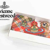 New Vivienne Westwood 100% Handkerchief & Charm & Bear Gift Box Set ( Sale ) Photo