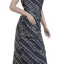 New Vivienne Westwood Flute Dress 40 2 Red Label Anglomania Gray Checked Corset Photo