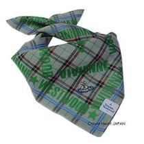 New Vivienne Westwood Handkerchief Mini-Scarf Bandana Tartan Check Orb Jp-Made Photo