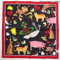 New Vivienne Westwood Handkerchief / Mini Scarf Cute Bee Bug Animal Black Rare Photo