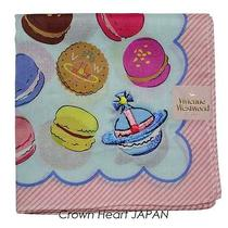 New Vivienne Westwood Handkerchief / Mini Scarf Macaron Orb Japan-Licensed Rare Photo