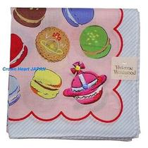 New Vivienne Westwood Handkerchief / Mini Scarf Macaron Orb Pink Japan-Licensed Photo