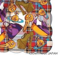 New Vivienne Westwood Handkerchief / Mini Scarf Tartan Check Key Orb Shoes Bag R Photo