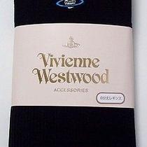 New Vivienne Westwood Japan 8th Leggings Footless Tights Black Japan Licensed Photo