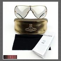 New Vivienne Westwood Sunglasses Vw58702 Gold Photo