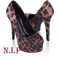 New Vogue Sexy Forever21 Leopard Platform Stiletto Pumps High Heels Party Shoes Photo