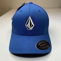 New Volcom Full Stone Men's Xfit Flex Fit Cap Hat Size L/xl Embroidered Frt & Bk Photo