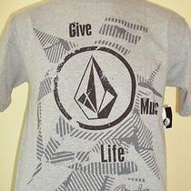 New Volcom Surf Men Fender Music Foundation Gb Tee T Shirt Size Medium Photo