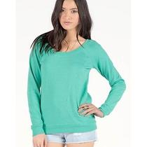 New Volcom Women's Moclov Crew Sweater 2014 Photo
