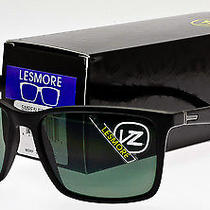 New Von Zipper Lesmore Sunglasses Black Satin Vintage Grey Smrf5les-Bks Photo